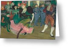 Marcelle Lender Dancing The Bolero In Chilperic Greeting Card
