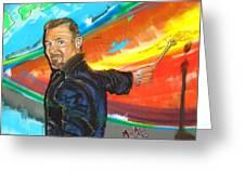 Marcello Cicchini Mural Greeting Card