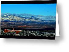 March In New Mexico Greeting Card