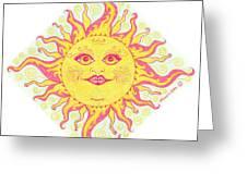 March Miss Patty Sun Greeting Card