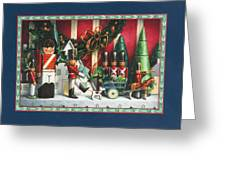 March Of The Wooden Soldiers Greeting Card