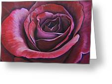 March Rose Greeting Card