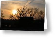March Sunrise1 Greeting Card by Jennifer  King