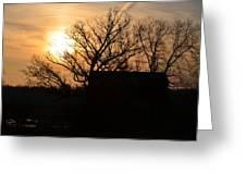 March Sunrise2 Greeting Card by Jennifer  King
