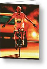 Marco Pantani Greeting Card
