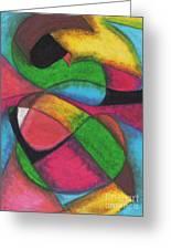 Mardi Gras Greeting Card by Ellen Howell