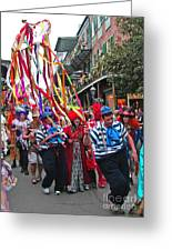 Mardi Gras In New Orleans Greeting Card