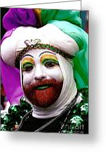 Mardi Gras New Orleans La Greeting Card