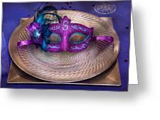 Mardi Gras Theme - Surprise Guest Greeting Card