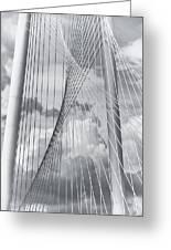 Margaret Hunt Hill Bridge Greeting Card