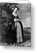 Margaret Woffington (c1714-1760) Greeting Card