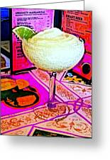 Margarita Time Greeting Card