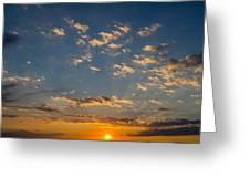 Margate Causeway Sunset Greeting Card
