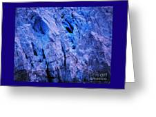 Margerie Glacier 4 Greeting Card