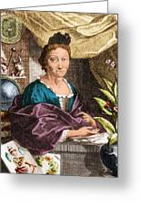 Maria Merian  Greeting Card by Science Source