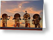 Mariachi Band Greeting Card