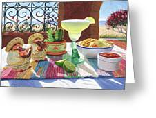 Mariachi Margarita Greeting Card