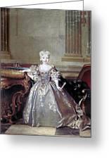 Mariana Victoria Of Spain (1718-1781) Greeting Card