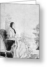 Marie De Vichy-chamrond (1679-1780) Greeting Card