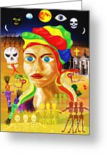 Marie Laveau Greeting Card