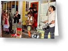 Marigny Musicians Greeting Card