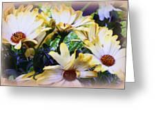 Marigold Blooms Greeting Card
