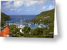 Marigot Bay Greeting Card