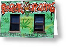Marijuana 3 Greeting Card