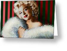 Marilyn 126 D 3 Greeting Card