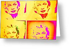 Marilyn Grew Up Greeting Card
