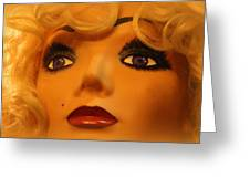 Marilyn Mannequin Greeting Card