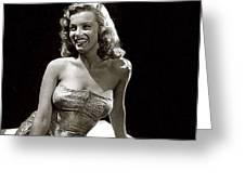 Marilyn Monroe Photo By J.r. Eyerman 1947-2014 Greeting Card