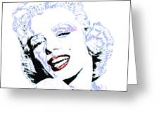Marilyn Monroe 20130331 Square Greeting Card