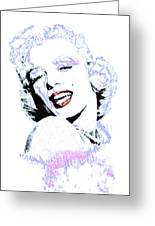 Marilyn Monroe 20130331 Greeting Card