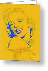 Marilyn Monroe 20130331v2 Greeting Card