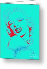 Marilyn Monroe 20130331v2p128 Greeting Card
