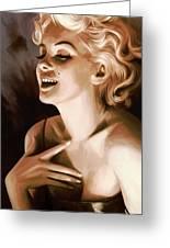 Marilyn Monroe Artwork 1 Greeting Card