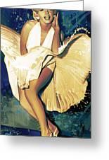 Marilyn Monroe Artwork 4 Greeting Card