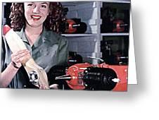 Marilyn Monroe At 16 Greeting Card