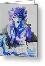 Marilyn Monroe 03 Greeting Card