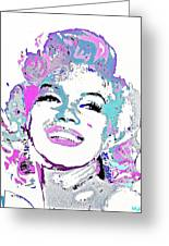 Marilyn Monroe I Want To Be Loved By You Greeting Card