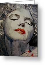 Marilyn No8 Greeting Card by Paul Lovering