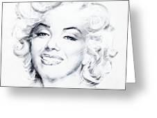 Marilyn 1 Greeting Card