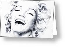 Marilyn 3 Greeting Card