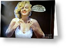 Marilyns Pointers Greeting Card