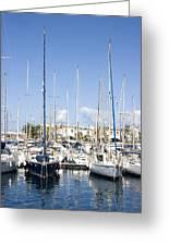 Marina Gran Canaria Greeting Card
