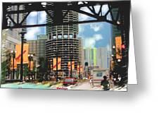 Marina Towers - Chicago Greeting Card