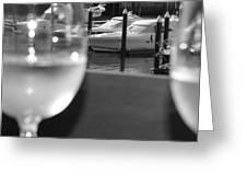 Marina View Greeting Card