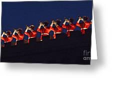 Marine Band At Night Greeting Card
