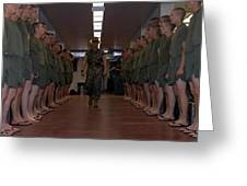 Marine Basic Training Greeting Card